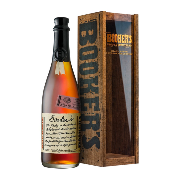 "Booker's Bourbon Batch 2020-01 ""Granny's Batch"" - Available at Wooden Cork"