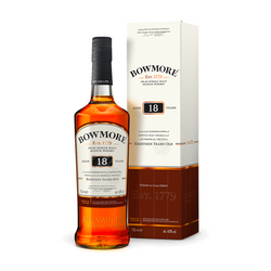 Bowmore 18 Year Old Scotch Whisky - Available at Wooden Cork