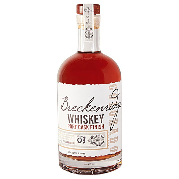 Breckenridge Port Cask Finish  Breckenridge
