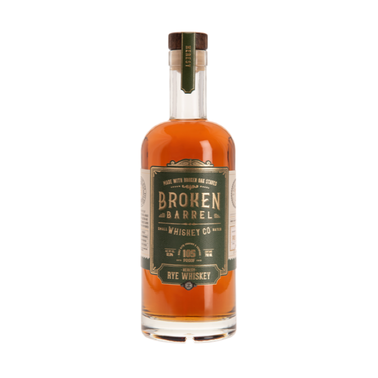 Broken Barrel Heresy Rye - Available at Wooden Cork