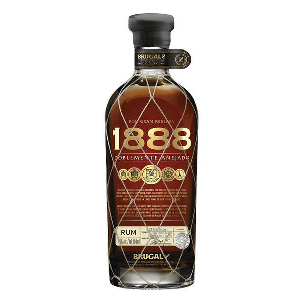 Brugal 1888 Doblemente Anejado Rum - Available at Wooden Cork
