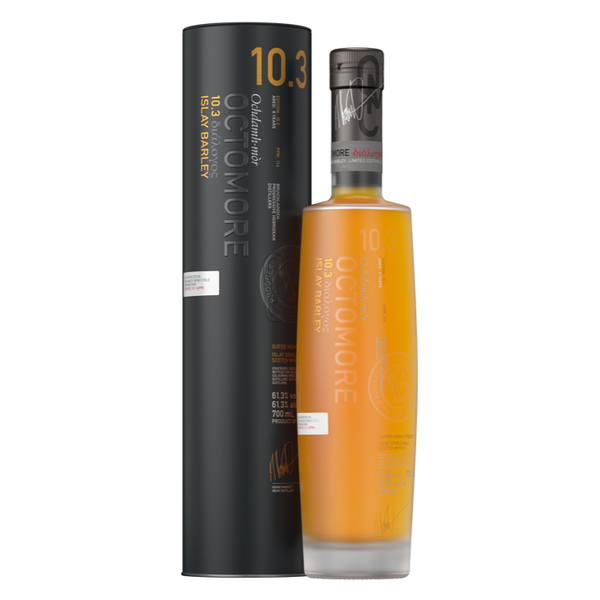 Bruichladdich Octomore 10.3 Islay Single Malt Scotch Whiskey - Available at Wooden Cork