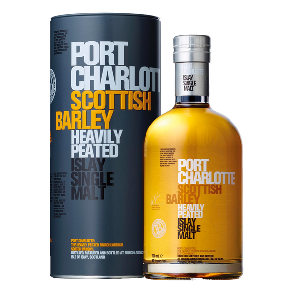 Bruichladdich Port Charlotte Scottish Barley - Available at Wooden Cork