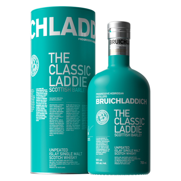 Bruichladdich The Classic Laddie Scottish Barley - Available at Wooden Cork