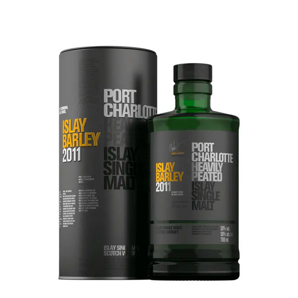 Bruichladdich Port Charlotte Islay Barley - Available at Wooden Cork