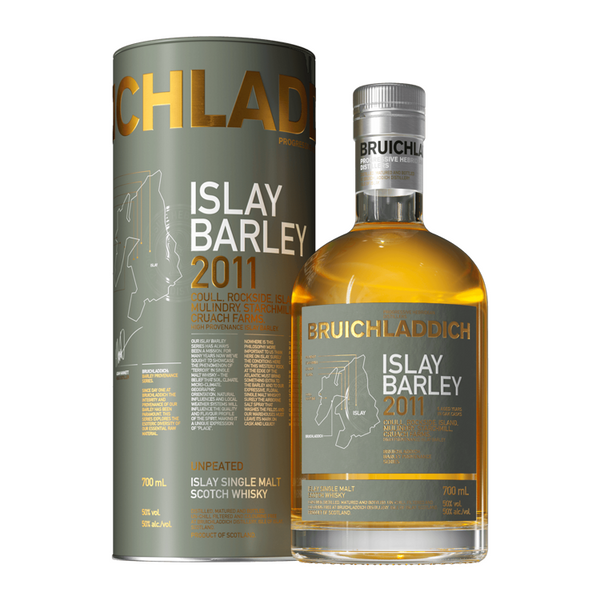 Bruichladdich Rockside Farm 2011 Islay Barley - Available at Wooden Cork