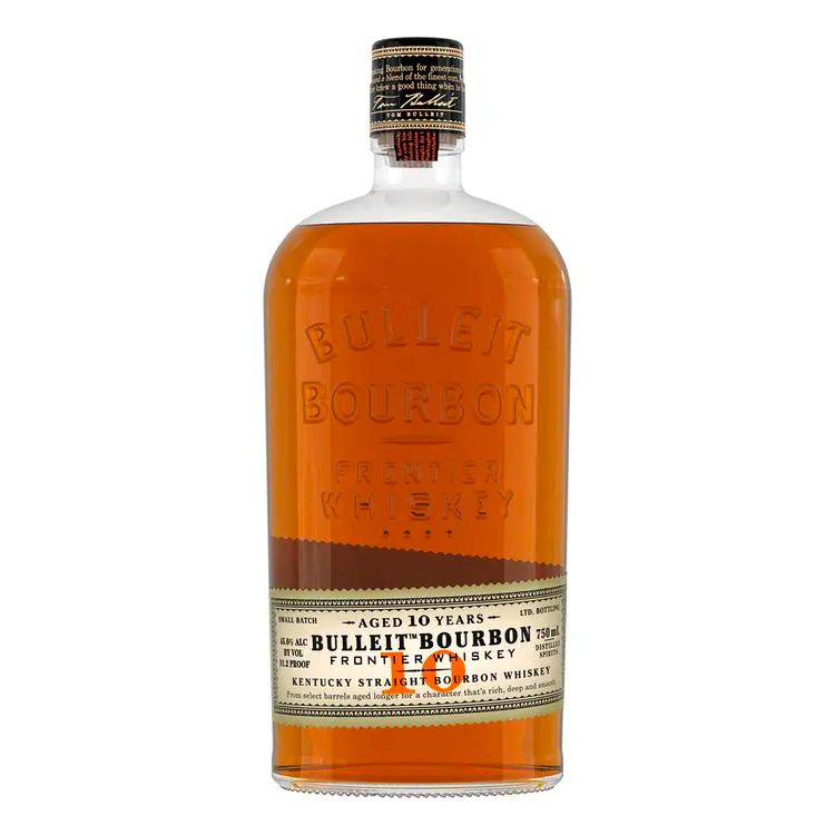 Bulleit 10 Year Bourbon - Available at Wooden Cork