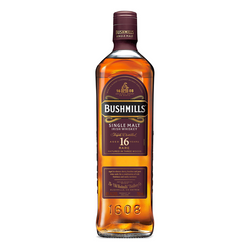 Bushmills 16 Year Single Malt Irish Whiskey - Available at Wooden Cork