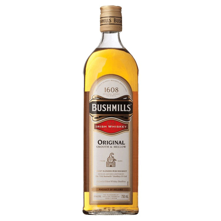 Bushmills Irish Whiskey - Available at Wooden Cork
