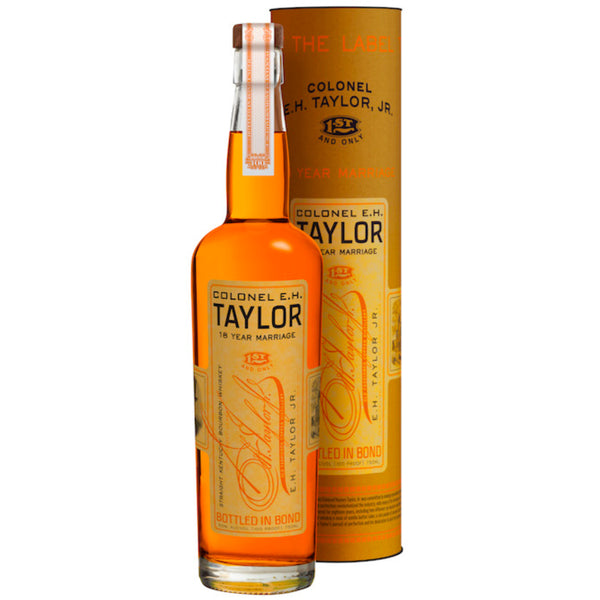 Colonel E.H. Taylor 18 Year Marriage Straight Bourbon Whiskey - Available at Wooden Cork