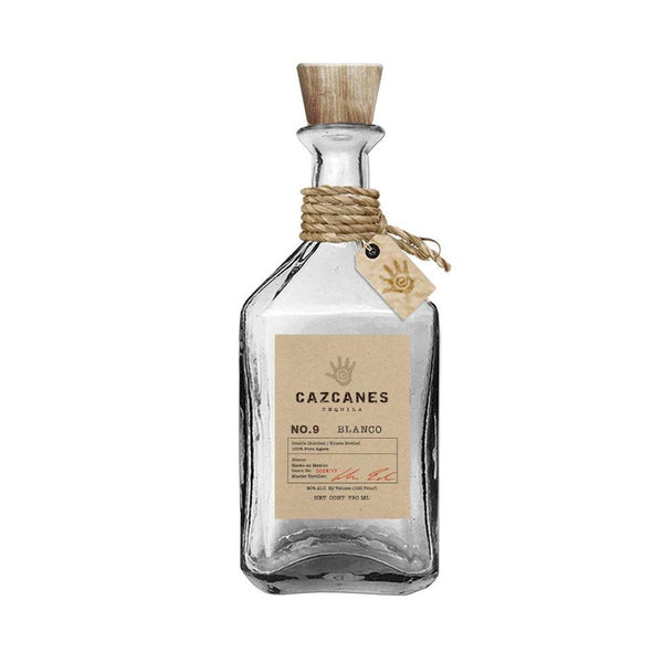 Cazcanes No.9 Blanco Tequila - Available at Wooden Cork