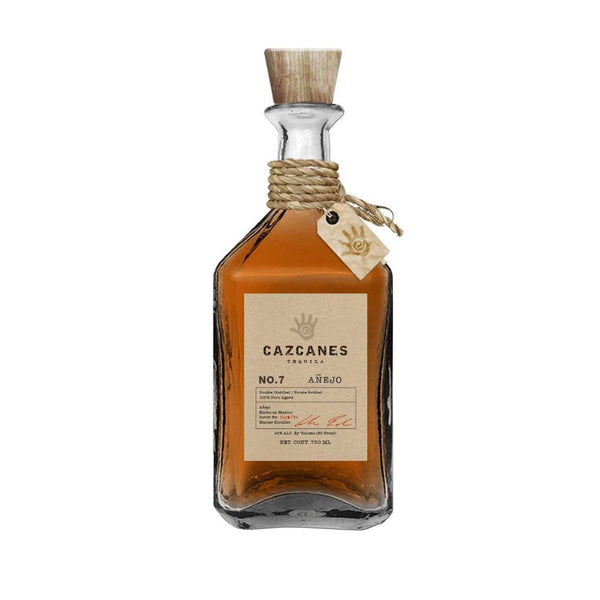 Cazcanes No.7 Anejo Tequila - Available at Wooden Cork