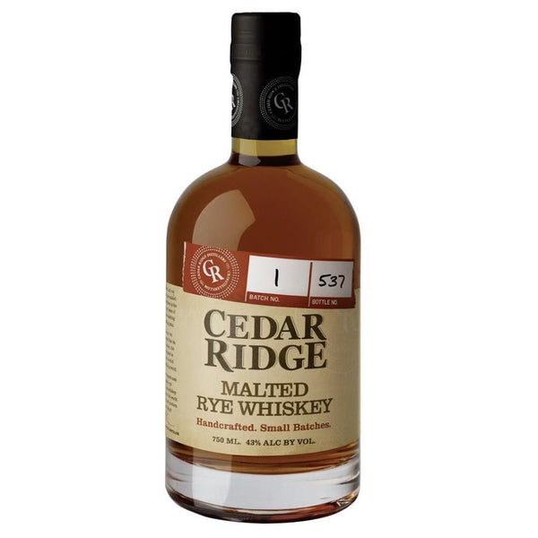 Cedar Ridge Malted Rye Whiskey
