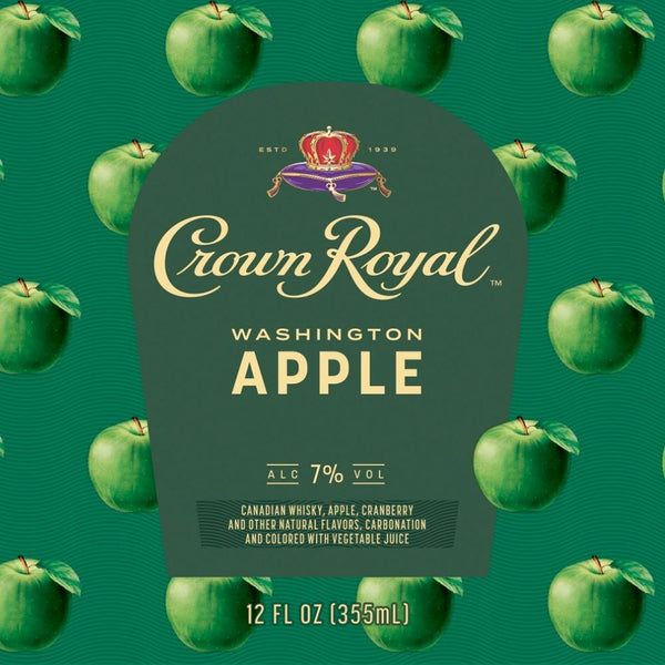 Crown Royal Washington Apple Canned Cocktail 4pk - Available at Wooden Cork