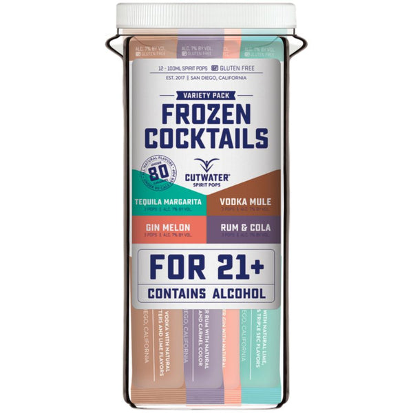 Cutwater Spirits Frozen Cocktails - Available at Wooden Cork