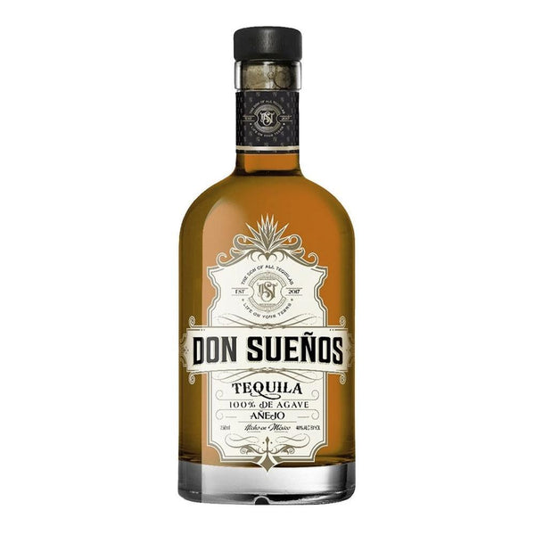 Don Sueños Tequila Anejo - Available at Wooden Cork