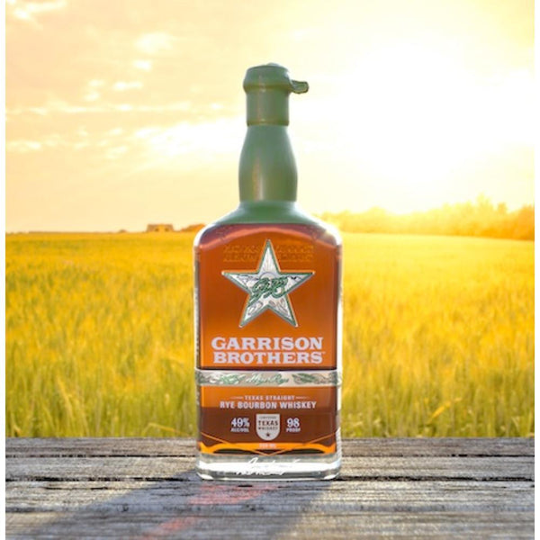 Garrison Brothers High Rye Bourbon - Available at Wooden Cork