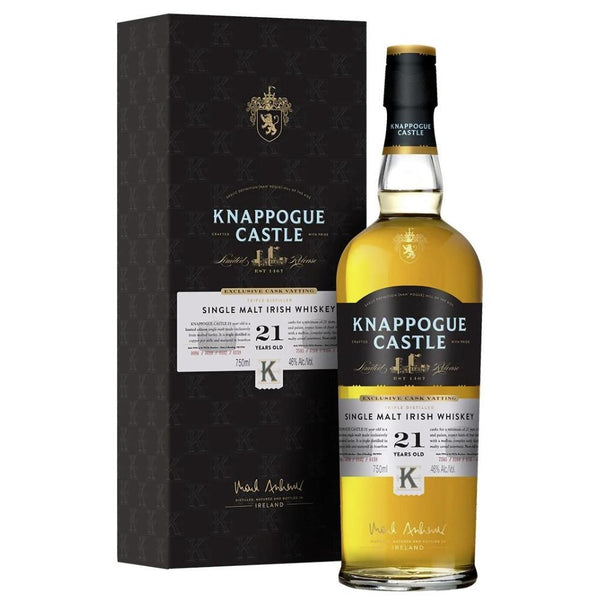 Knappogue Castle Single Malt 21 Year Old - Available at Wooden Cork