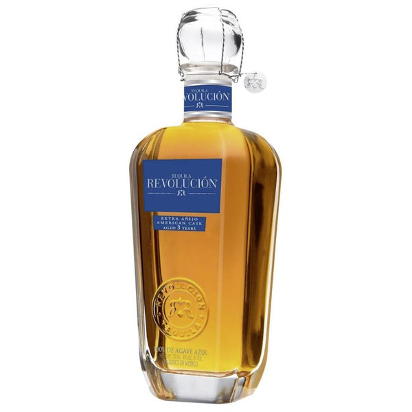 Tequila Revolución Extra Añejo American Cask - Available at Wooden Cork