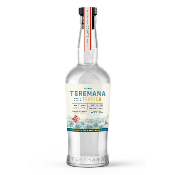 Teremana Blanco Tequila - Available at Wooden Cork
