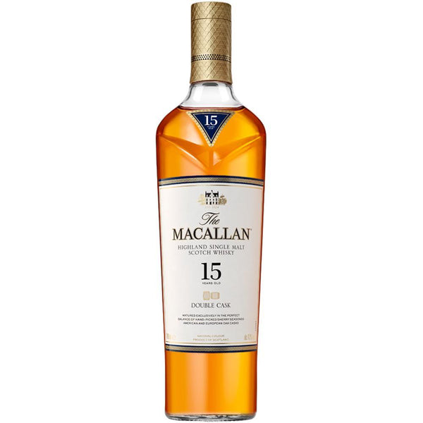 The Macallan 15 Year Old Double Cask - Available at Wooden Cork