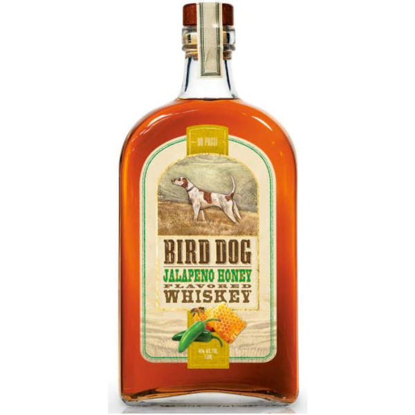 Bird Dog Jalapeno Honey Flavored Whiskey - Available at Wooden Cork