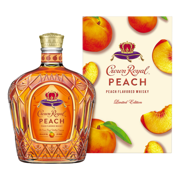 Crown Royal Peach Whisky - Available at Wooden Cork