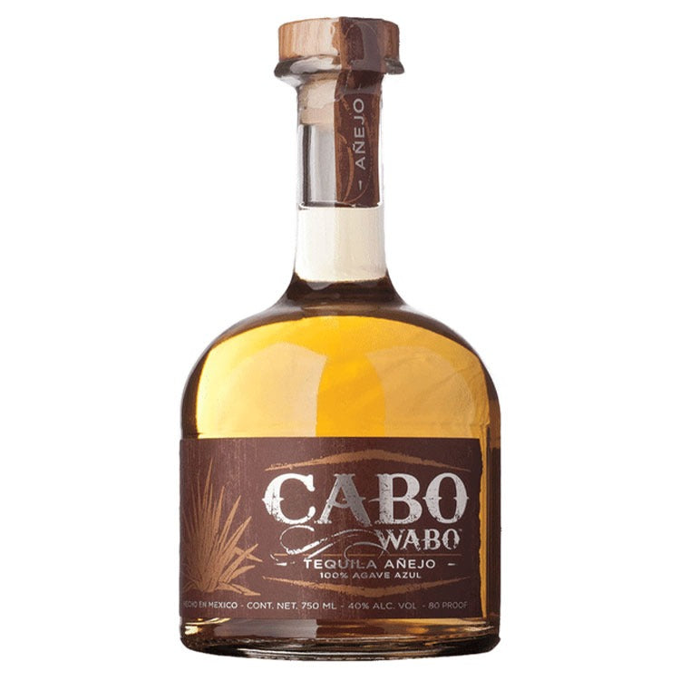 Cabo Wabo Anejo Tequila - Available at Wooden Cork