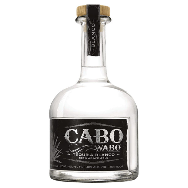 Cabo Wabo Blanco Tequila - Available at Wooden Cork