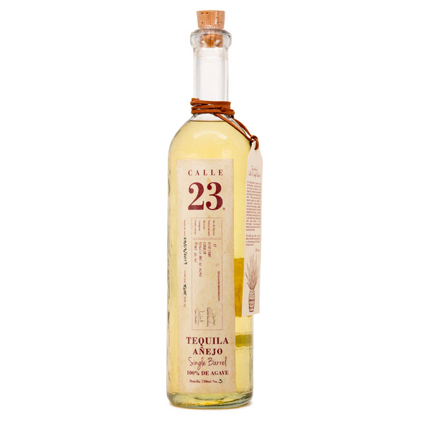 Calle 23 Single Barrel Anejo Tequila - Available at Wooden Cork
