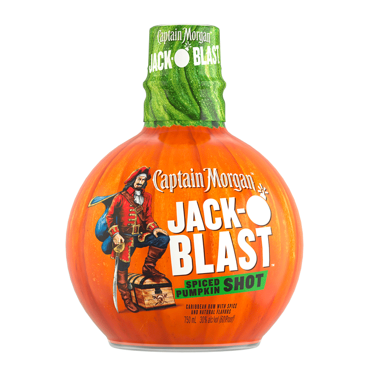 Captain Morgan Jack-O'Blast - Available at Wooden Cork