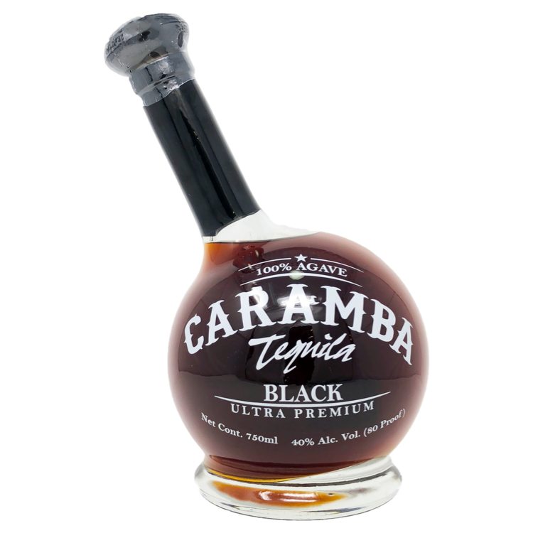 Caramba Black Blanco Tequila - Available at Wooden Cork