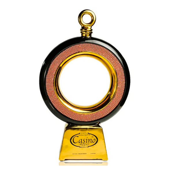 Casino Azul The Gold Ring Tequila Anejo - Available at Wooden Cork