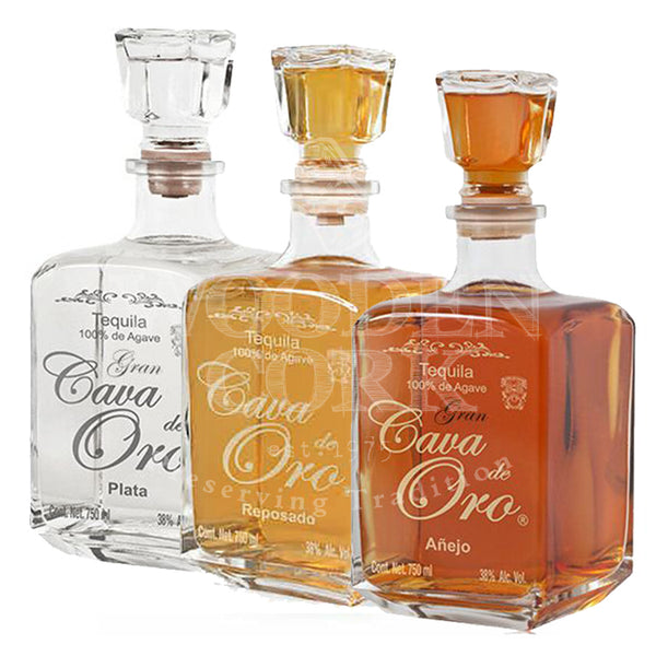 Cava de Oro Blanco, Reposado & Anejo Collection - Available at Wooden Cork