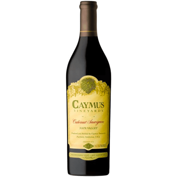 Caymus Vineyards Napa Valley Cabernet Sauvignon - Available at Wooden Cork