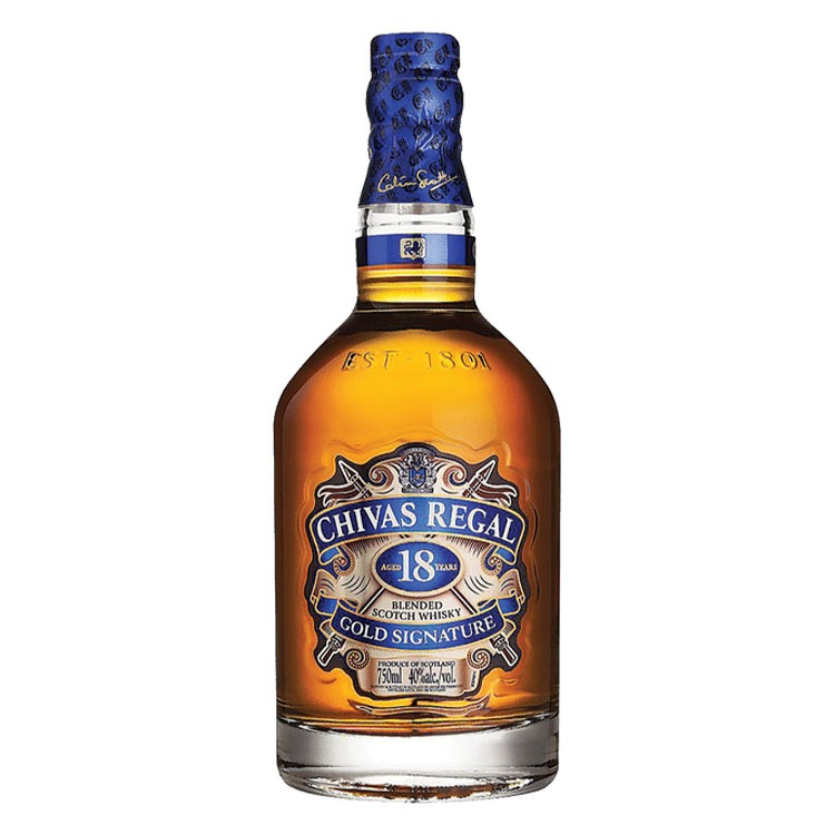 Chivas Regal 18 Year - Available at Wooden Cork