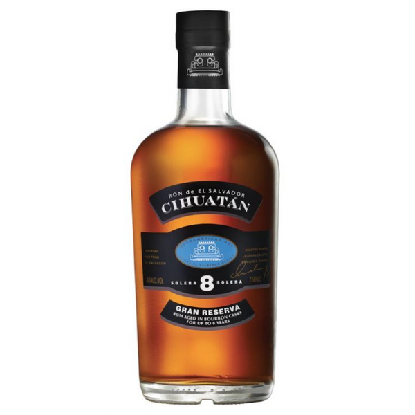 Cihuatan Gran Reserva 8 Year Old Rum - Available at Wooden Cork