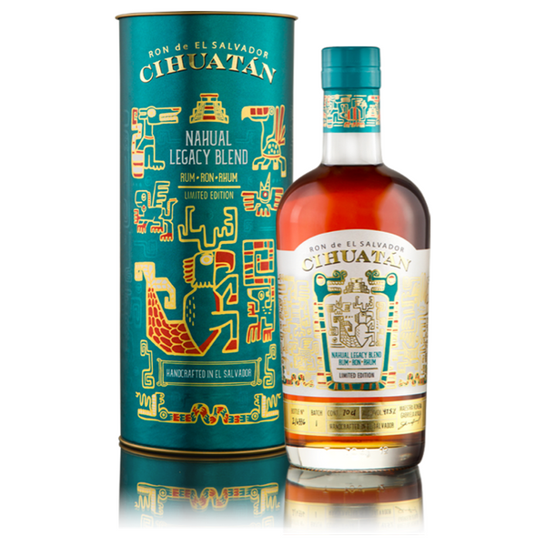 Cihuatan Nahual Legacy Blend Rum - Available at Wooden Cork