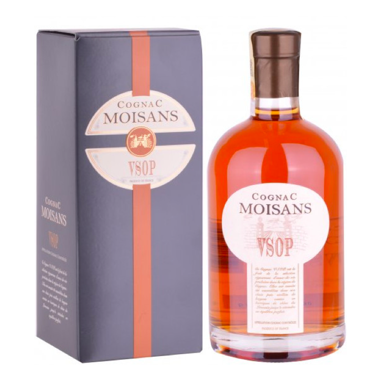 Cognac Moisans V.S.O.P. - Available at Wooden Cork