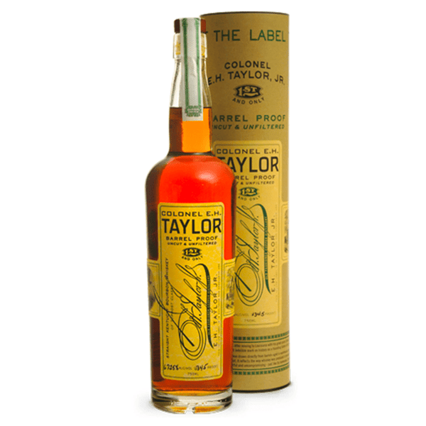 Colonel E.H. Taylor Barrell Proof - Available at Wooden Cork