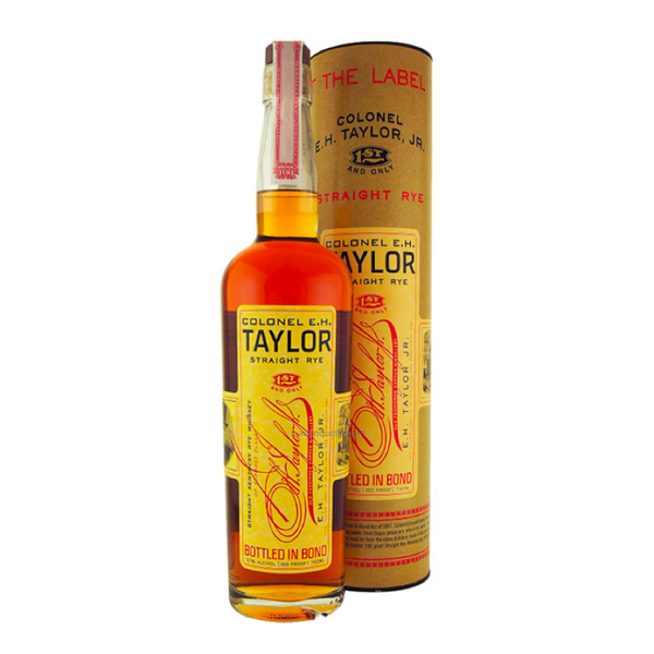 Colonel E.H. Taylor Straight Rye Whiskey - Available at Wooden Cork