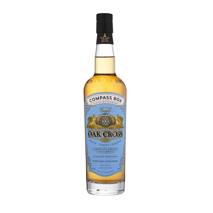 Compass Box Oak Cross Scotch - Available at Wooden Cork