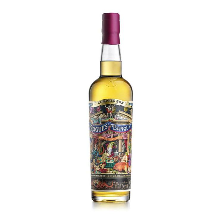 Compass Box Rogues' Banquet Scotch Whisky - Available at Wooden Cork