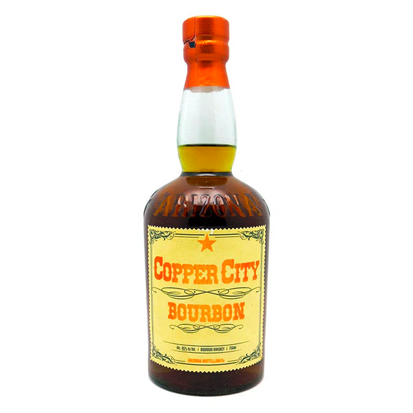 Copper City Bourbon - Available at Wooden Cork