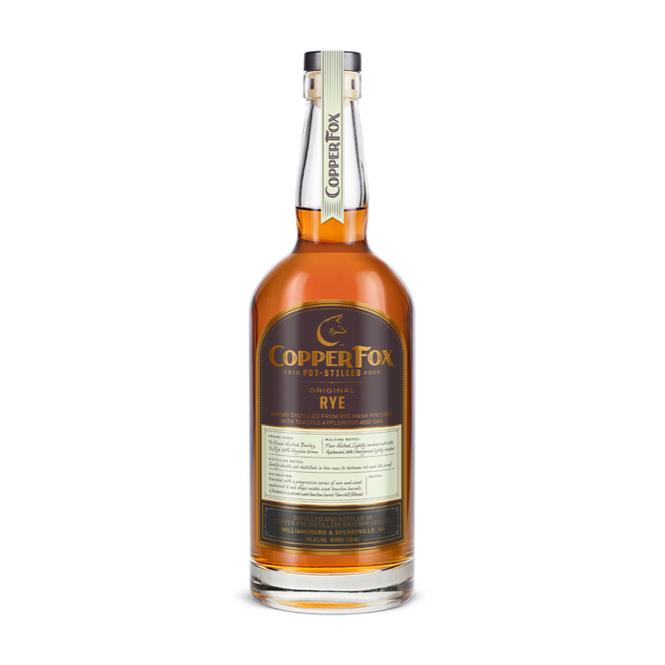 Copper Fox Original Rye - Available at Wooden Cork