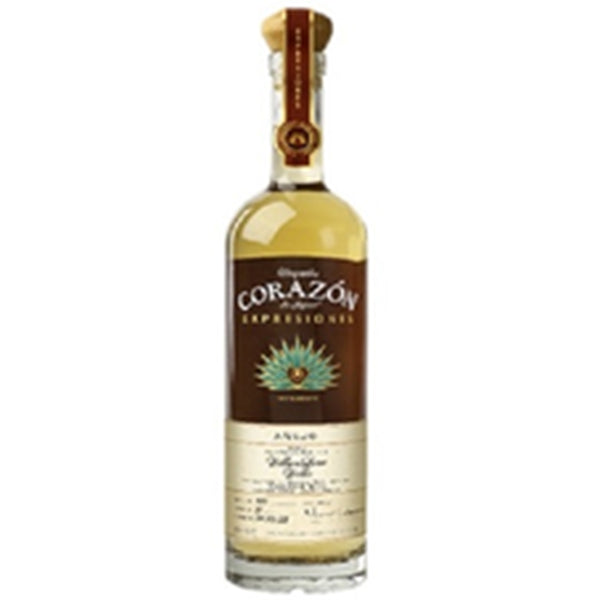 Tequila Corazón Aged 15 Months In William Larue Weller Expresiones Añejo Tequila - Available at Wooden Cork