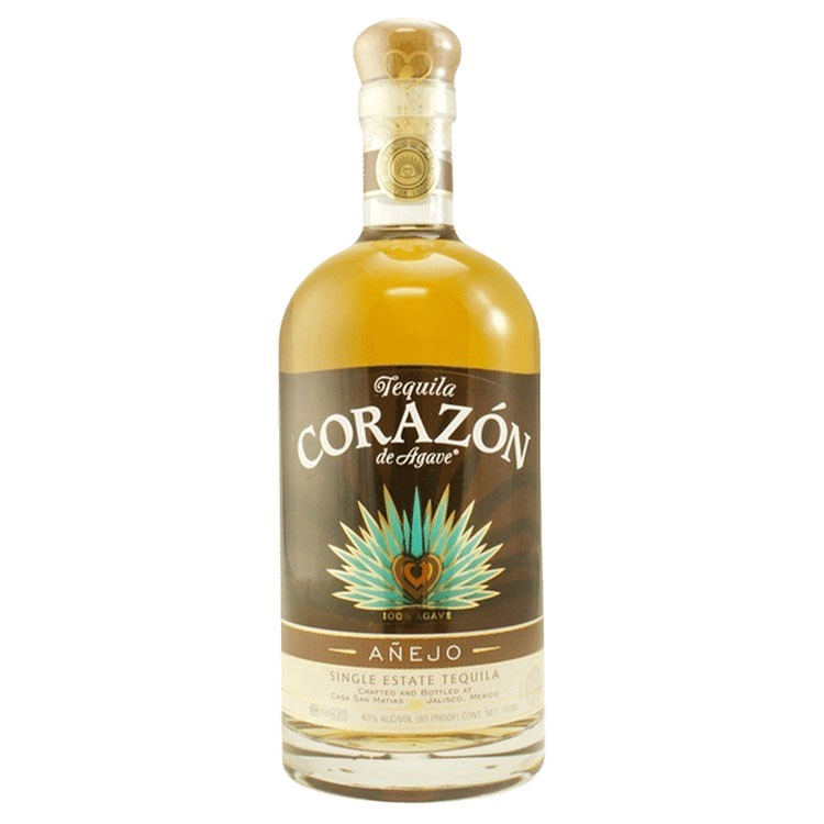 Corazon Anejo Tequila - Available at Wooden Cork