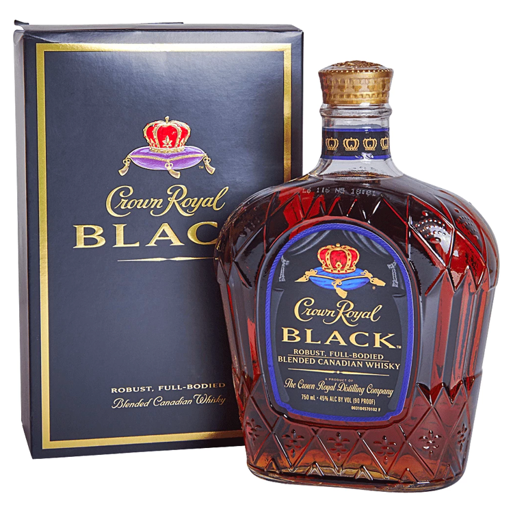 Crown Royal Black Whisky - Available at Wooden Cork