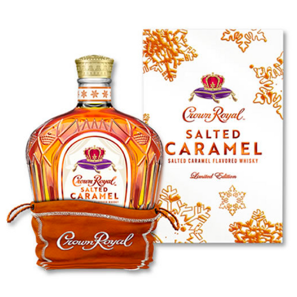 Crown Royal Salted Caramel - Available at Wooden Cork
