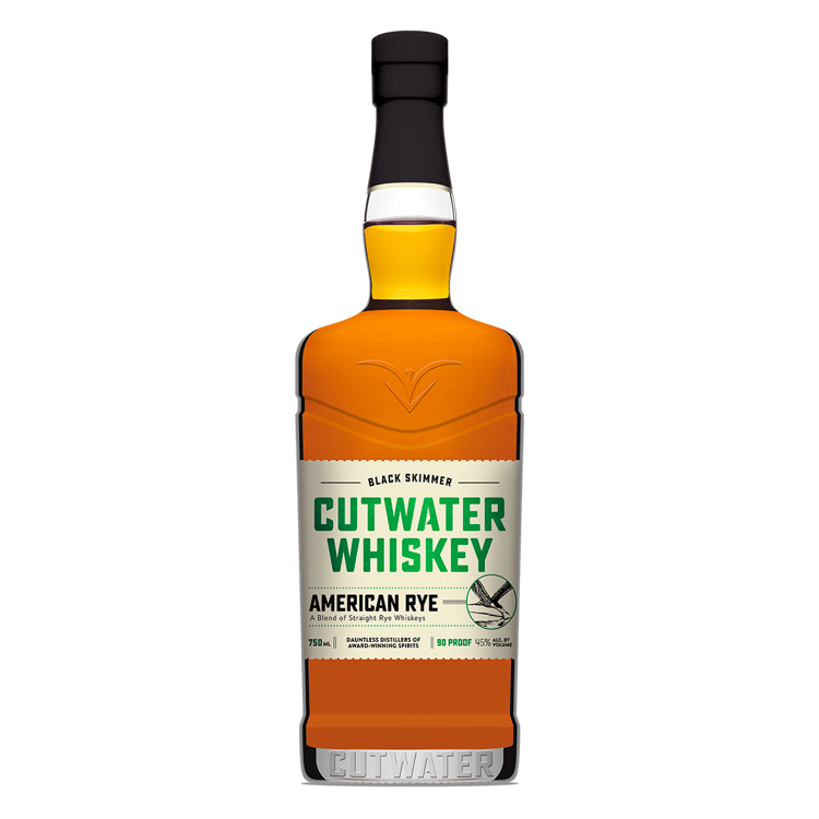 Cutwater Rye Whiskey - Available at Wooden Cork